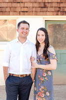 Engagement Session at Sahuaro Ranch Park